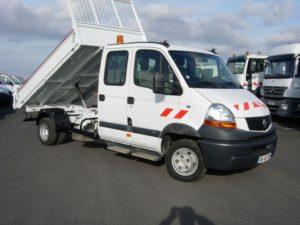 Renault master 130 benne