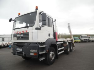 Man tg 360 6x4 multibenne
