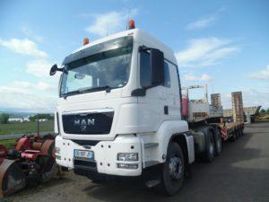 Man TGS 33.480 6x4 tracteur