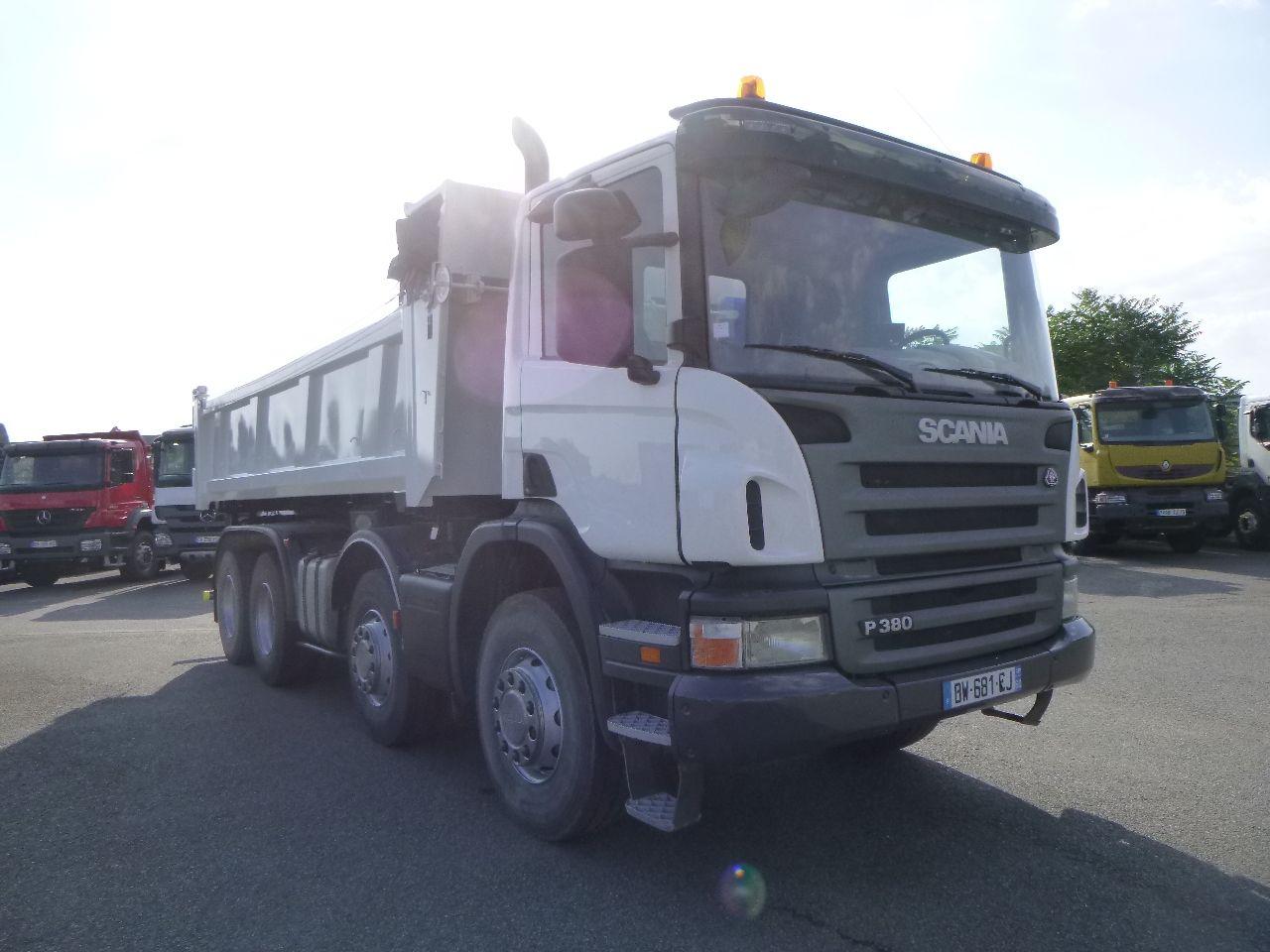 Scania P 380 8×4 bibenne
