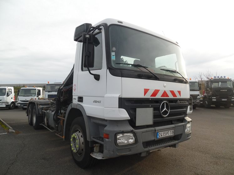 Mercedes Actros Grue Arriere