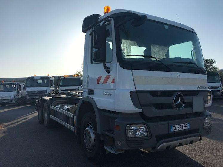 Mercedes Benz ACTROS 2636 6×4 ampliroll