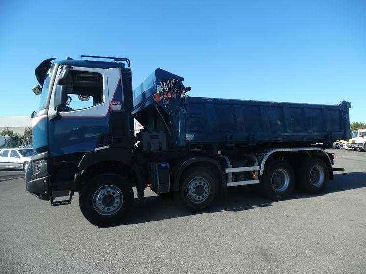 Renault vi K 460 8×4 bibenne