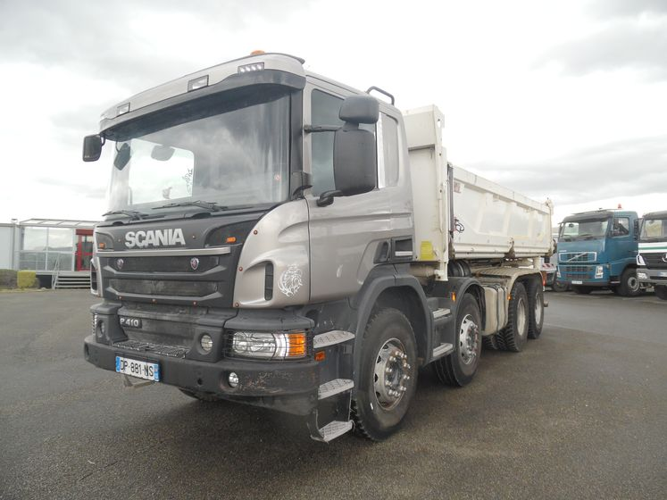 Scania P 410 8x4 bibenne