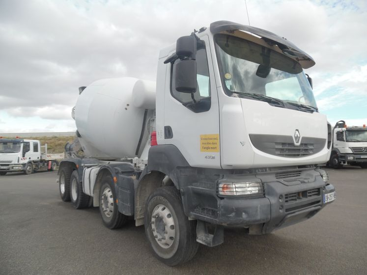 Renault vi KERAX 430 DXI 8×4 malaxeur