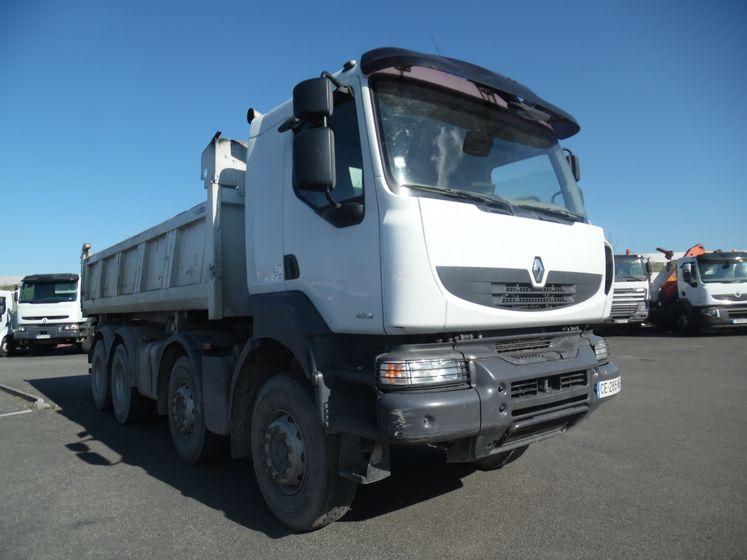 Renault vi KERAX 410 dxi 8×4 bibenne