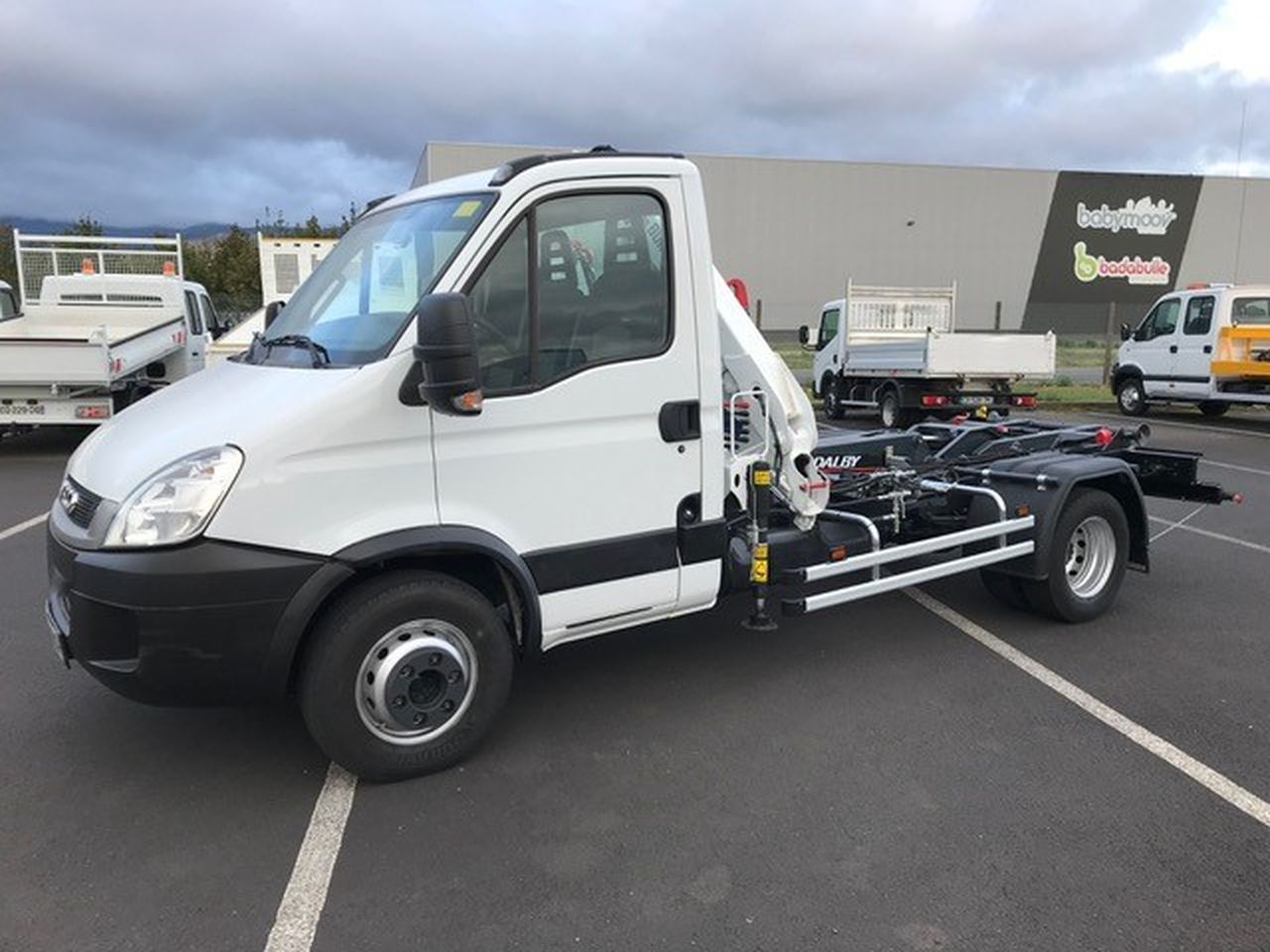 Iveco DAILY 65 C 18 ampliroll grue